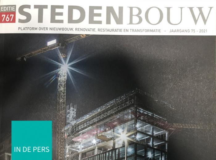 Artikel over Interior Group in het mooie magazine Stedenbouw