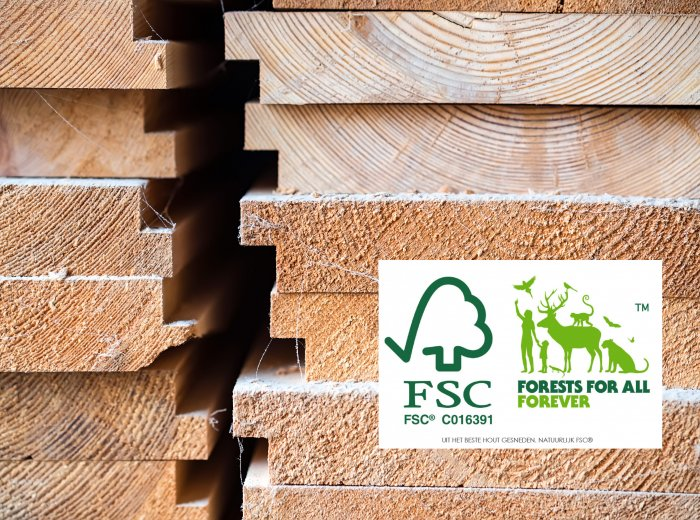 Goed bezig met het Forest Stewardship Council®-keurmerk