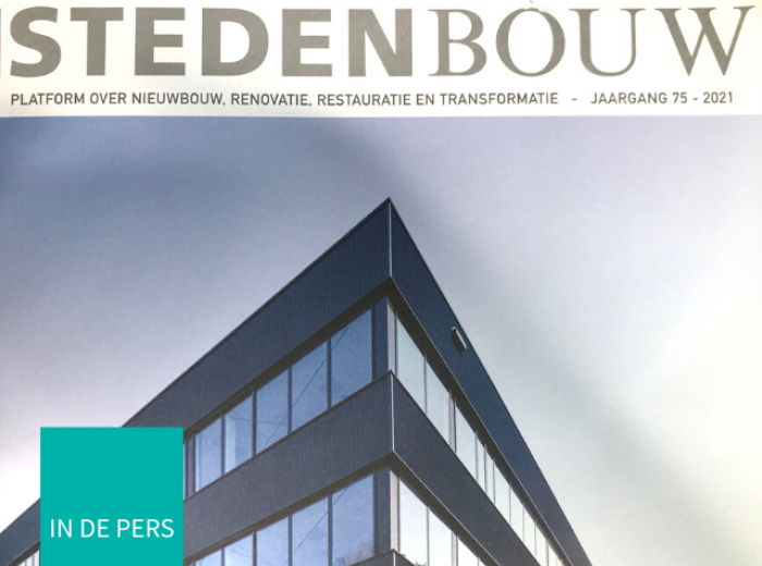 Article about Interior Group in magazine Stedenbouw
