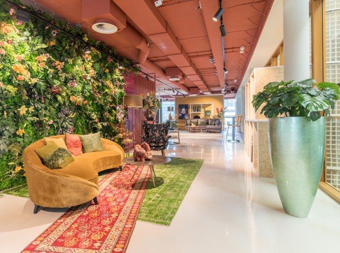 Het gloednieuwe experience center van Interior Group