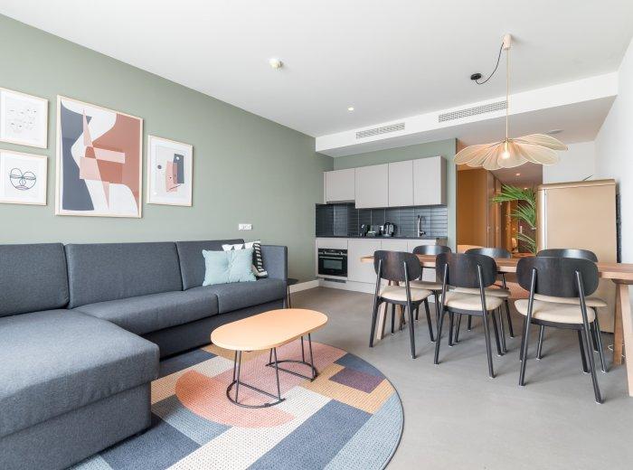 De inrichting van short stay appartementen